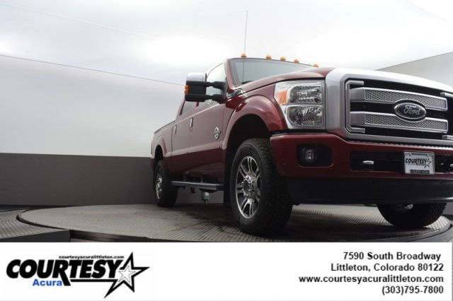 Pre-Owned 2015 Ford Super Duty F-350 SRW Platinum