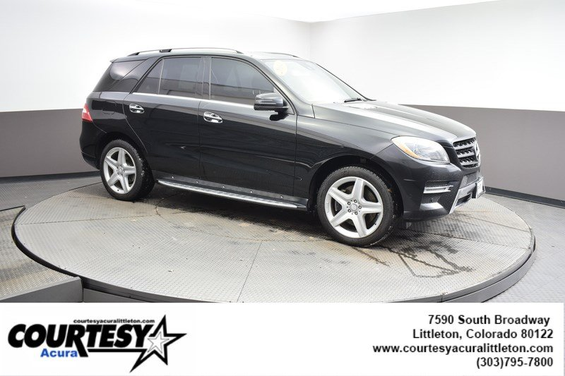 Pre-Owned 2014 Mercedes-Benz M-Class ML 550