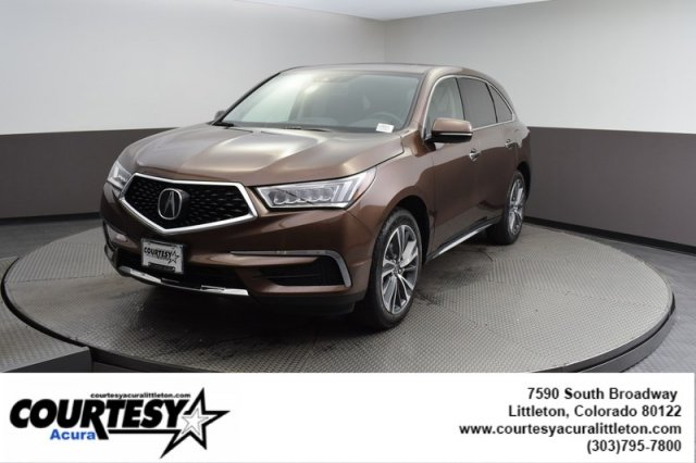Pre-Owned 2019 Acura MDX w/Technology Pkg