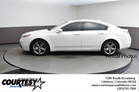 Pre-Owned 2012 Acura TL Advance Auto