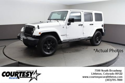 Pre-Owned 2014 Jeep Wrangler Unlimited Altitude